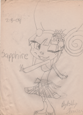 Sapphire- A Troll