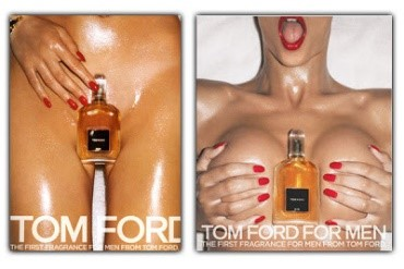 Tom Ford Fragrance ads